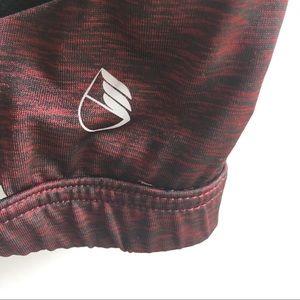 icyzone Intimates & Sleepwear - Icyzone yoga sports bra strappy wine black